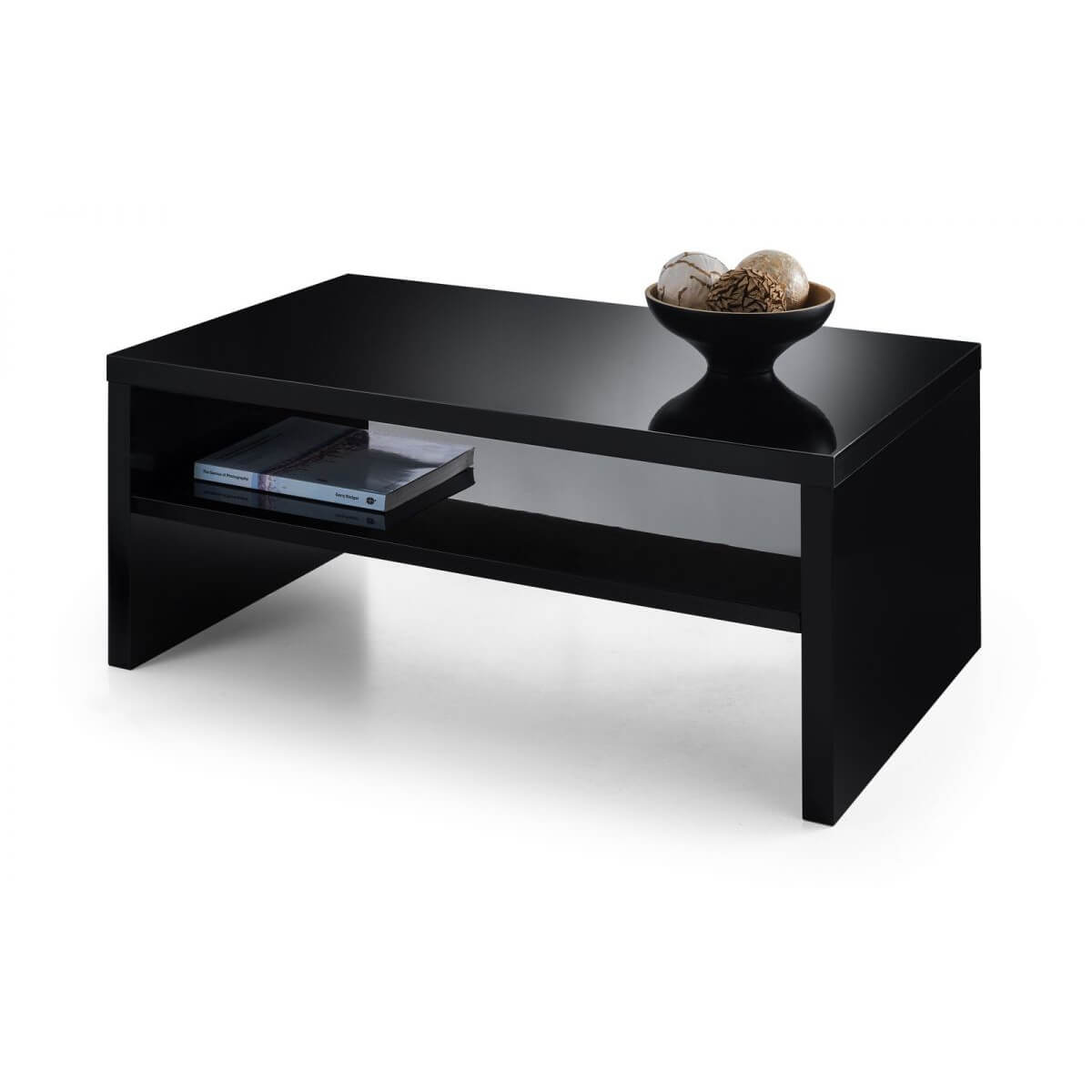 London Black High Gloss Coffee Table