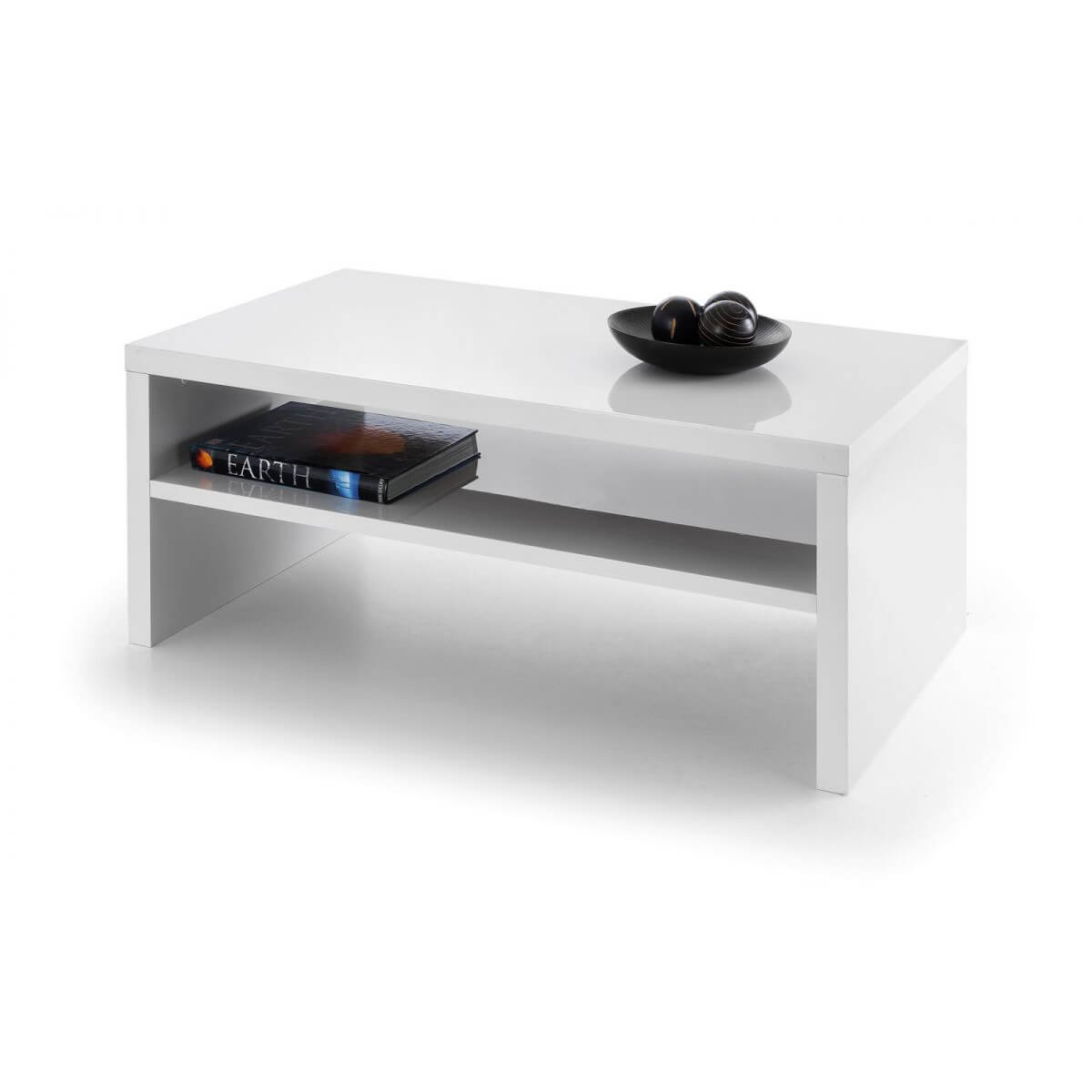 London White Coffee Table High Gloss