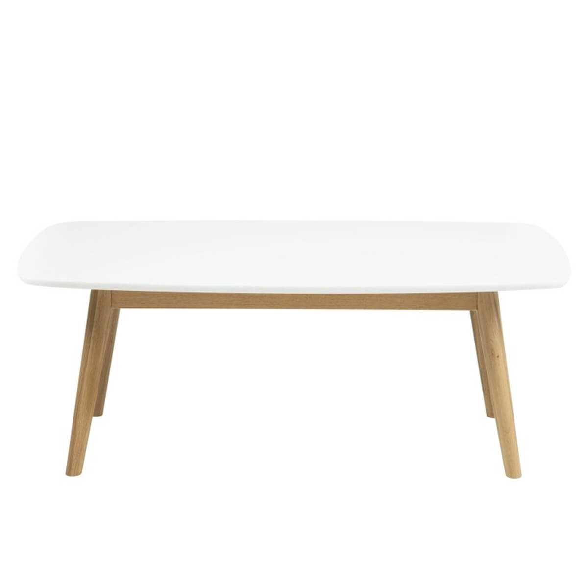 Nagano White & Oak Coffee Table