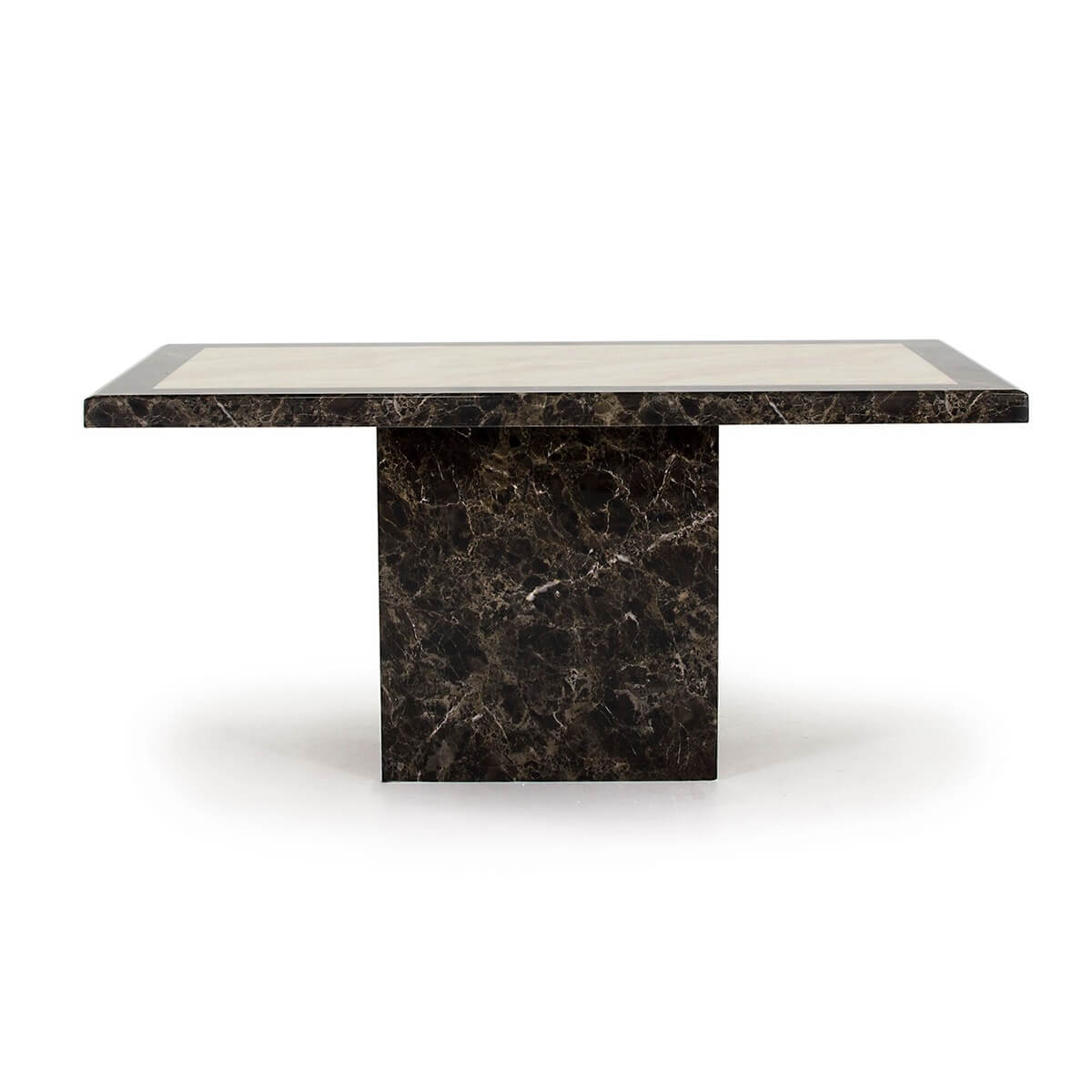 Ravelli Brown Marble Dining Table