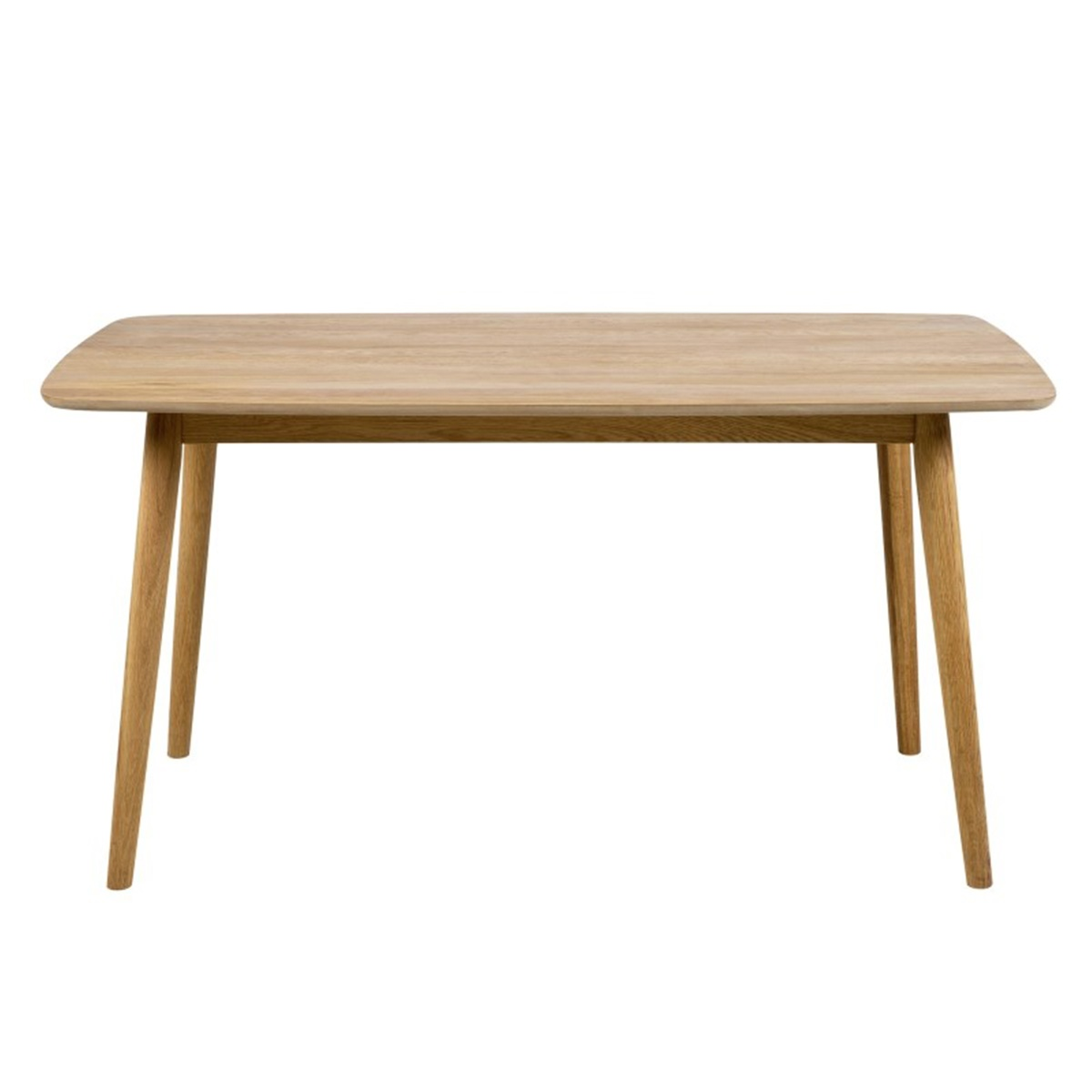 Nagano Rectangular Oak Dining Table 1