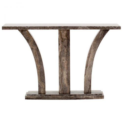 Amalfi Marble Console Table Pearl Grey