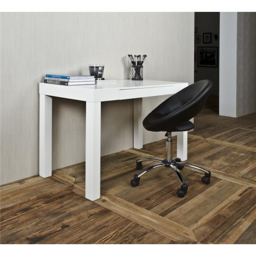 Casey Wooden White Desk 1
