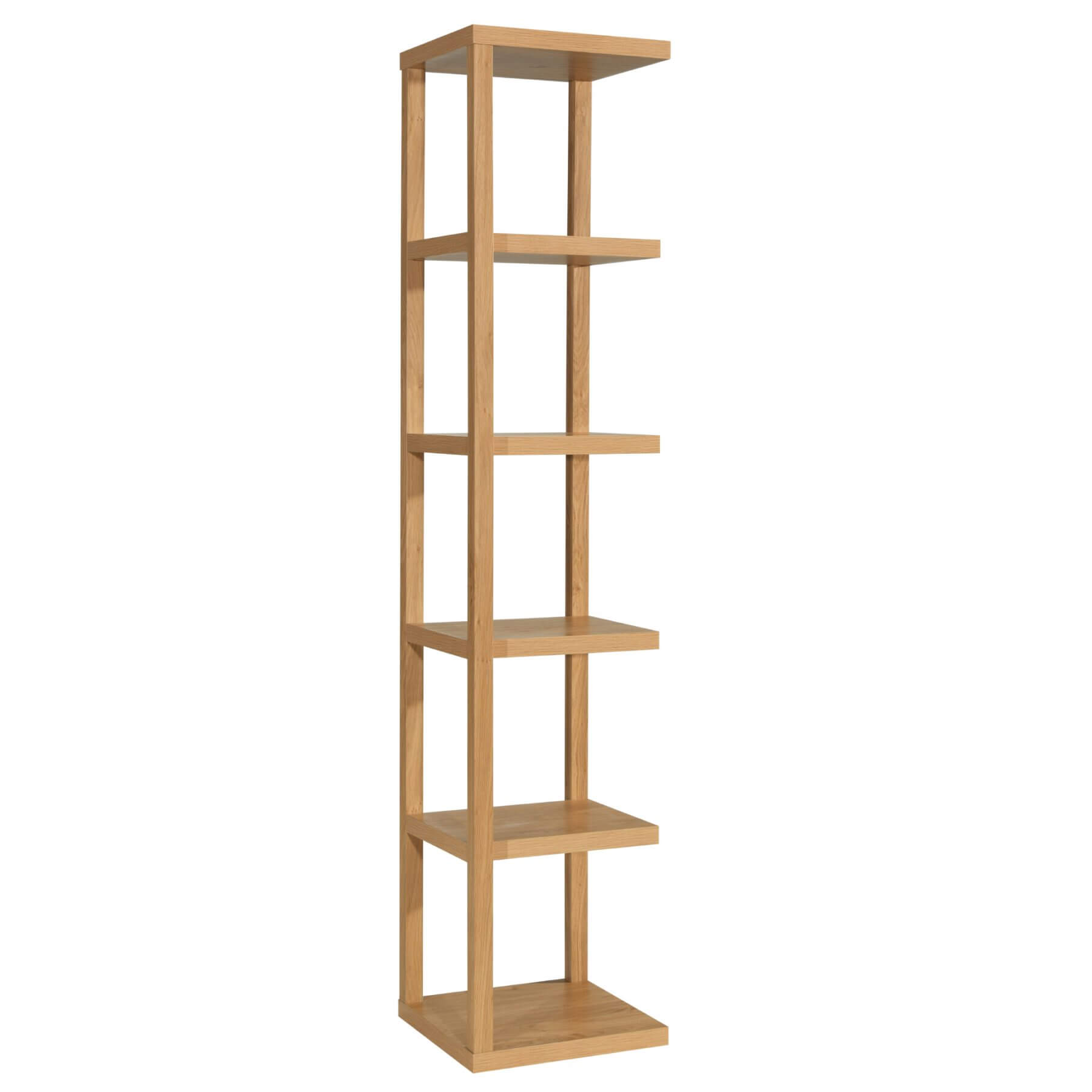 Laval Bookcase Oak 1