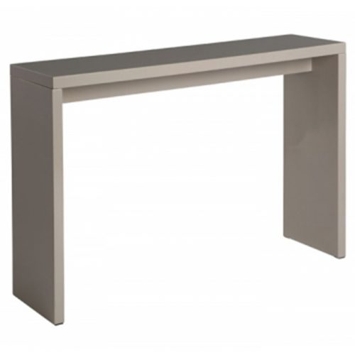 Madrid Console Table Gloss Dark Grey