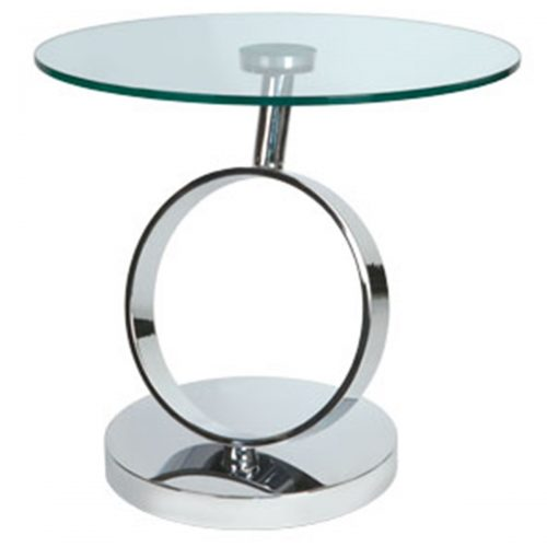 Magic Lamp Table Glass & Stainless Steel