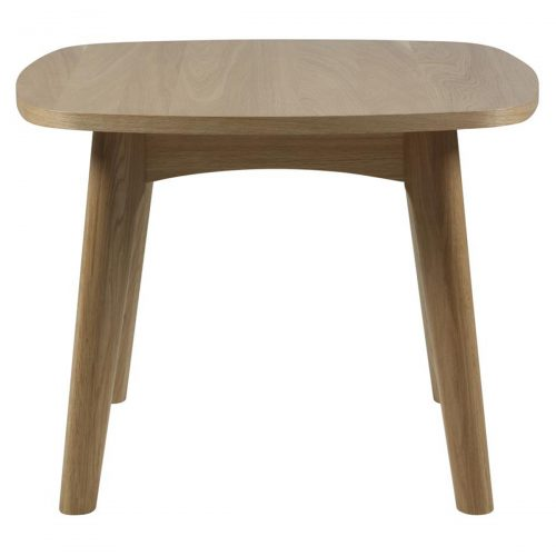 Marte Solid Wood Lamp Table Oak