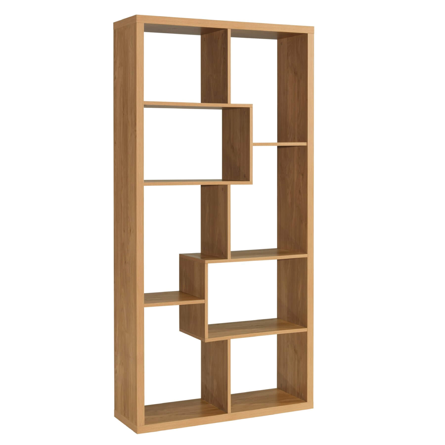 Montreal Bookcase Oak 1
