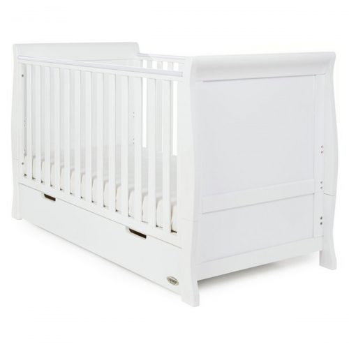 Obaby Stamford Cot Bed White