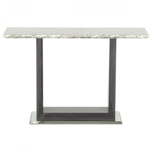 Rina Marble Console Table Grey