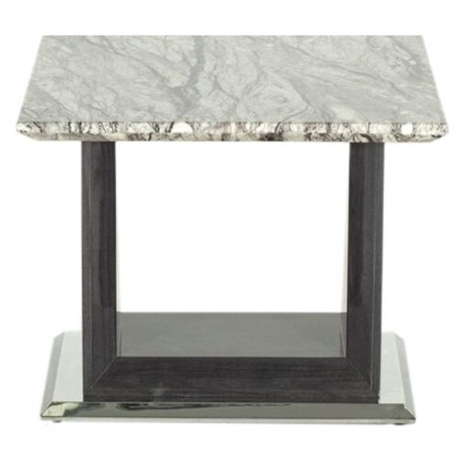 Rina Marble Lamp Table Grey