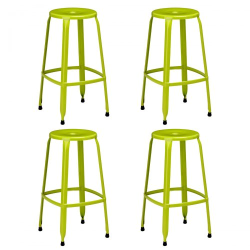 Rainbow Green Bar Stool Pack of 4