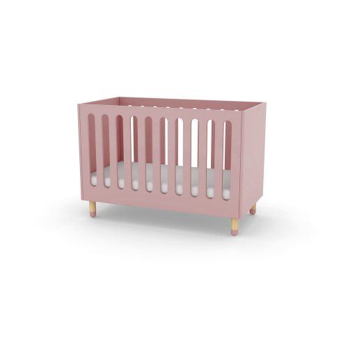 Flexa Play Cot Bed - Rose at FADS.co.uk