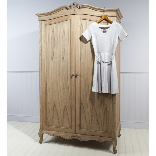 Madeleine Weathered Ash Wardrobe at FADS.co.uk
