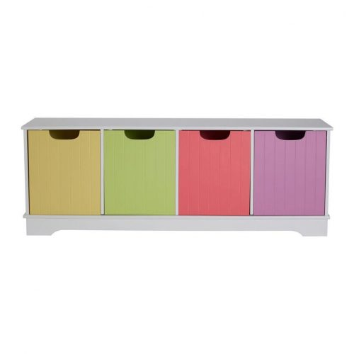 Juno Multi Coloured Storage Bench