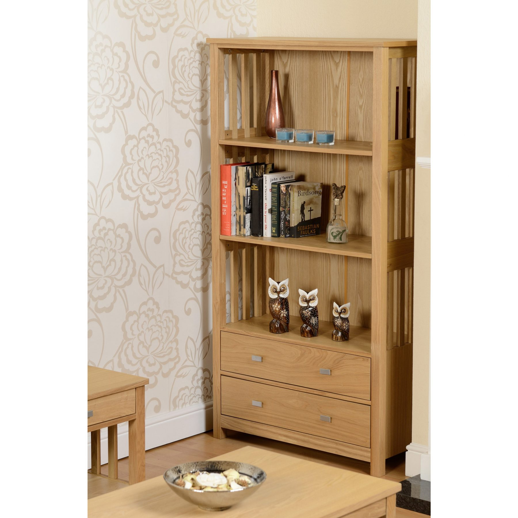 ashmore 2 drawer bookcase