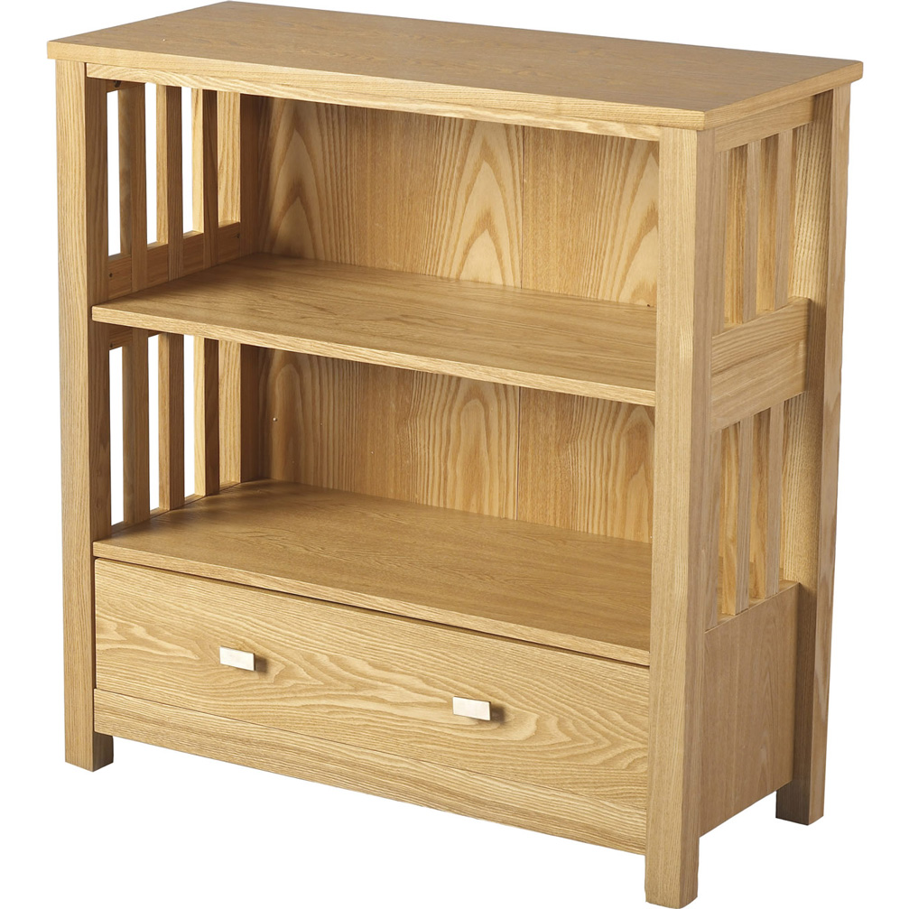 Ashmore 1 drawer bookcase full picture