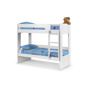 Ellie White Bunk Bed With Under Bed Drawer