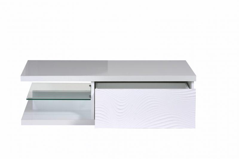 Karma White High Gloss Coffee Table 1