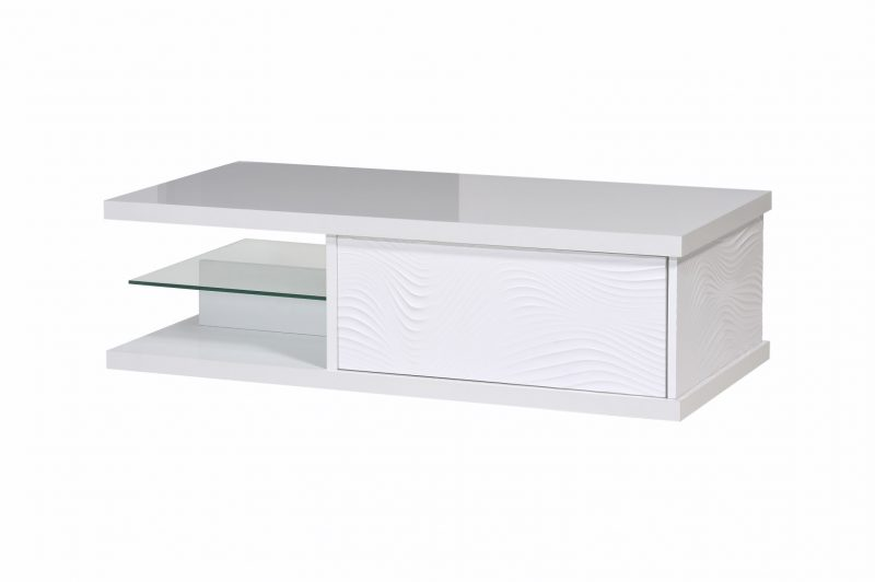 Karma White High Gloss Coffee Table 2