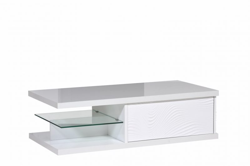 Karma White High Gloss Coffee Table 3
