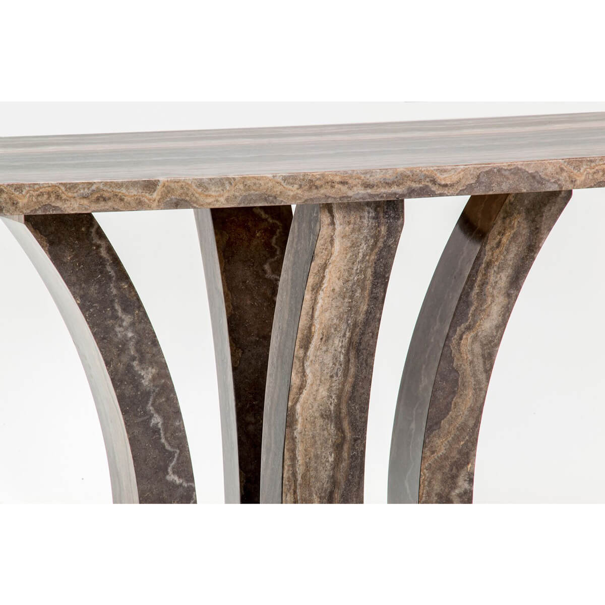 Amalfi Dining Table Angle Pearl Grey 4