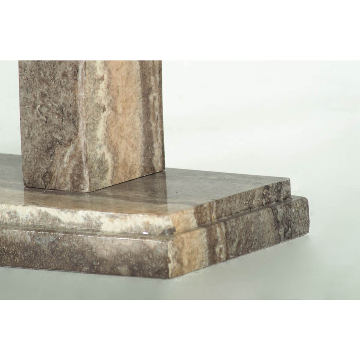 Amalfi Dining Table Angle Pearl Grey 6