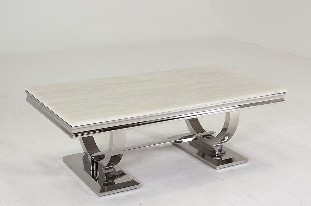 Grande Modern Marble Coffee Table 1