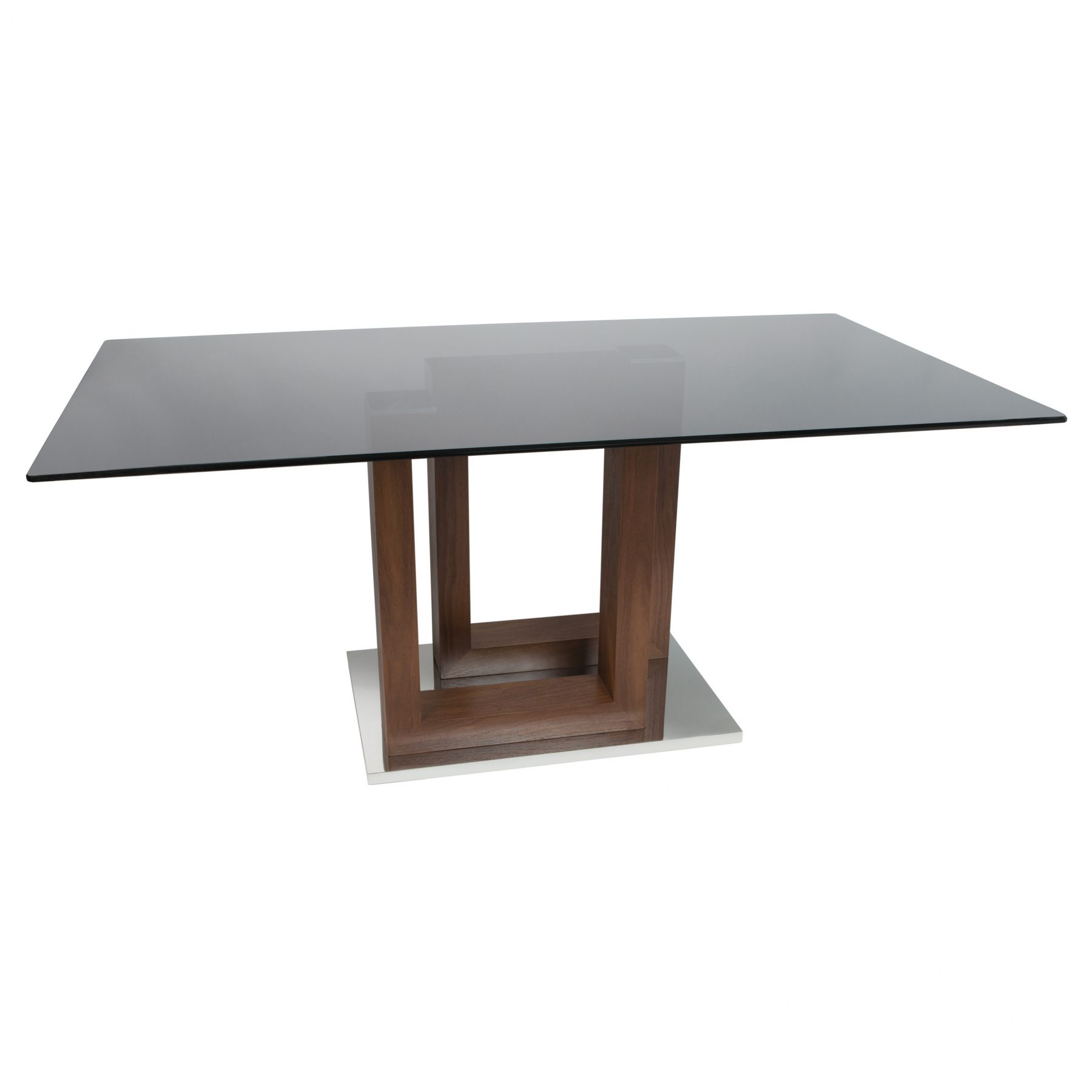 Autumn Smoked Glass Dining Table 6 - 8 Seater