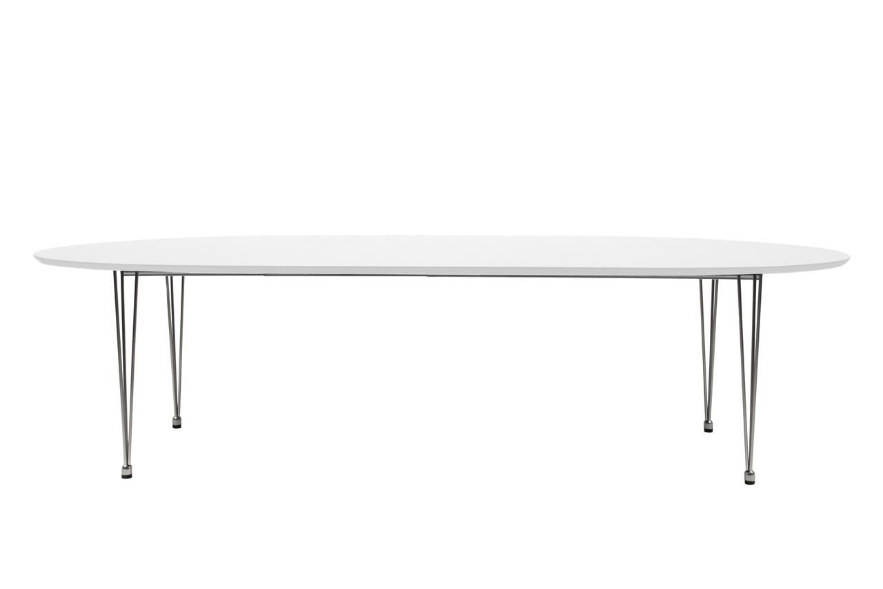 Bobby Extending Dining Table White 1