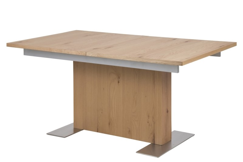 Brick Oak Extending Dining Table 2