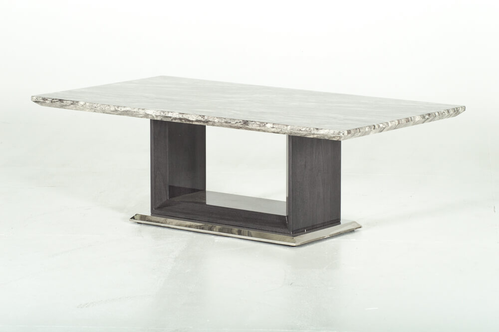 Rina Grey Marble Coffee Table | Free Delivery | Coffee ...