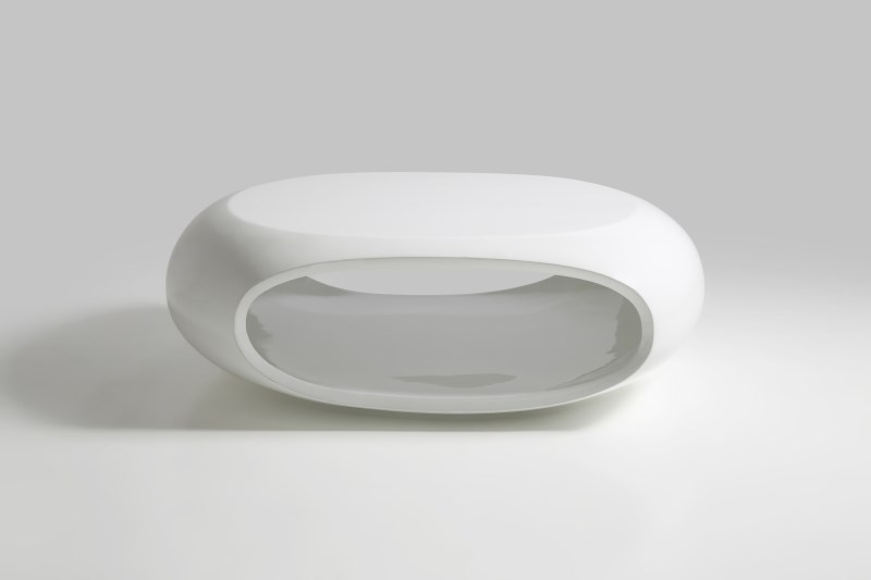 Eclipse White High Gloss Coffee Table 1