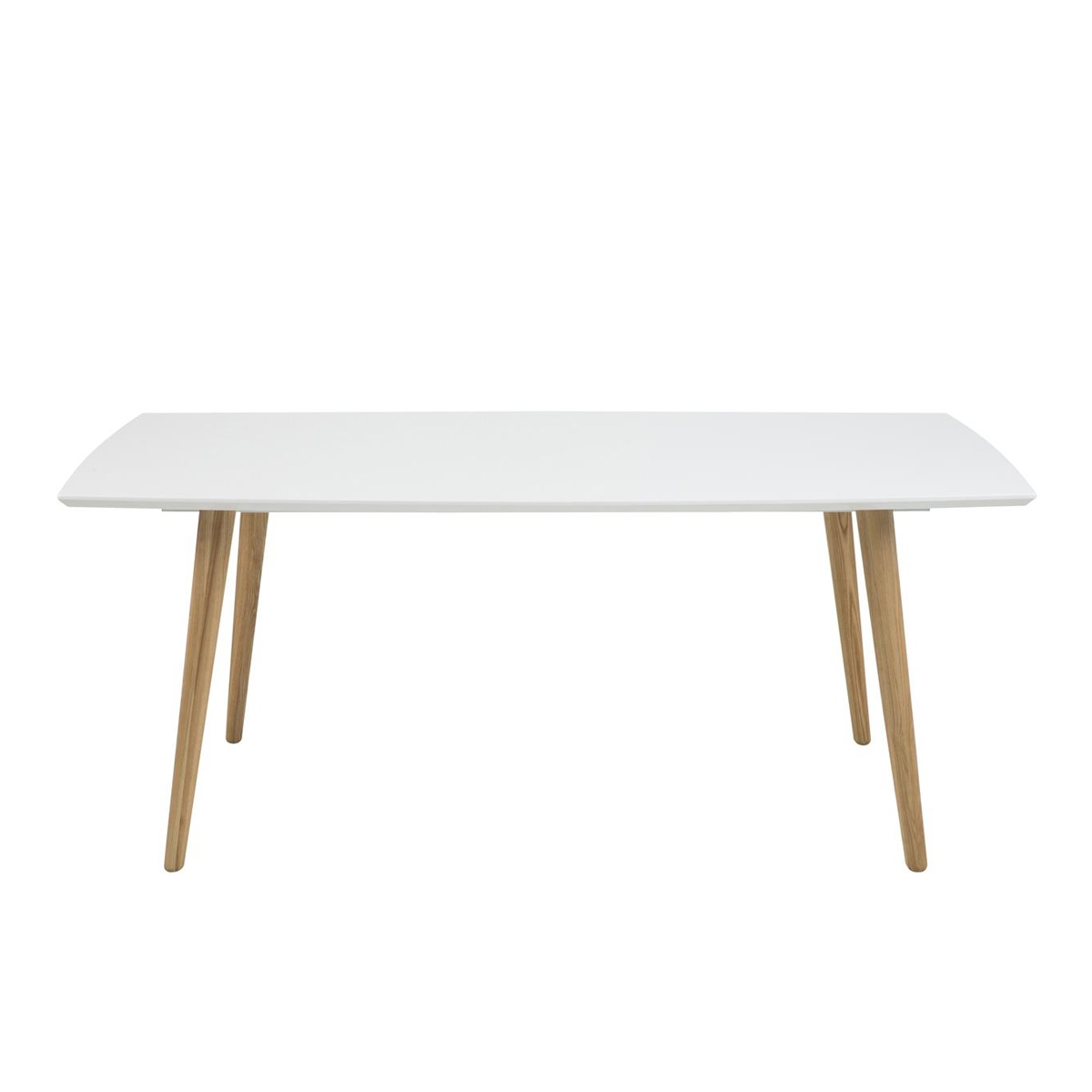 Elise Dining Table White High Gloss 1