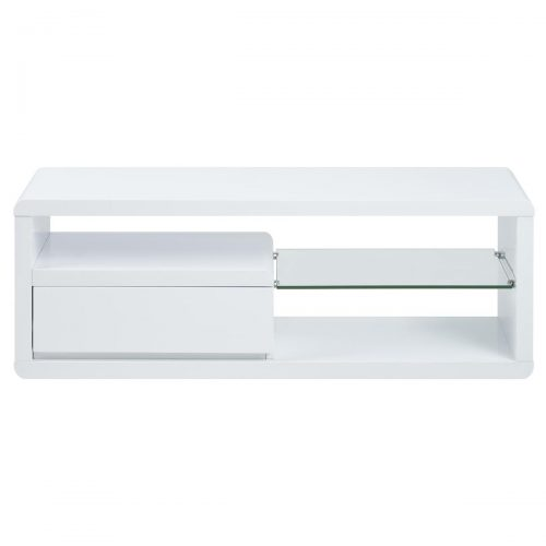 Eran TV Unit White Gloss