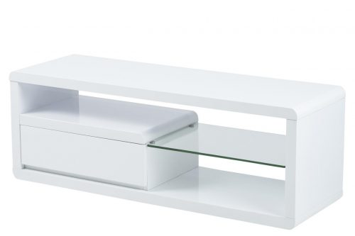 Eran White GLoss TV Unit 2