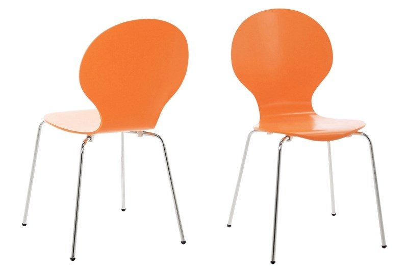 Hugo Orange Dining Chair 1