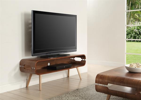 Jual Scandinavian Walnut TV Stand 3