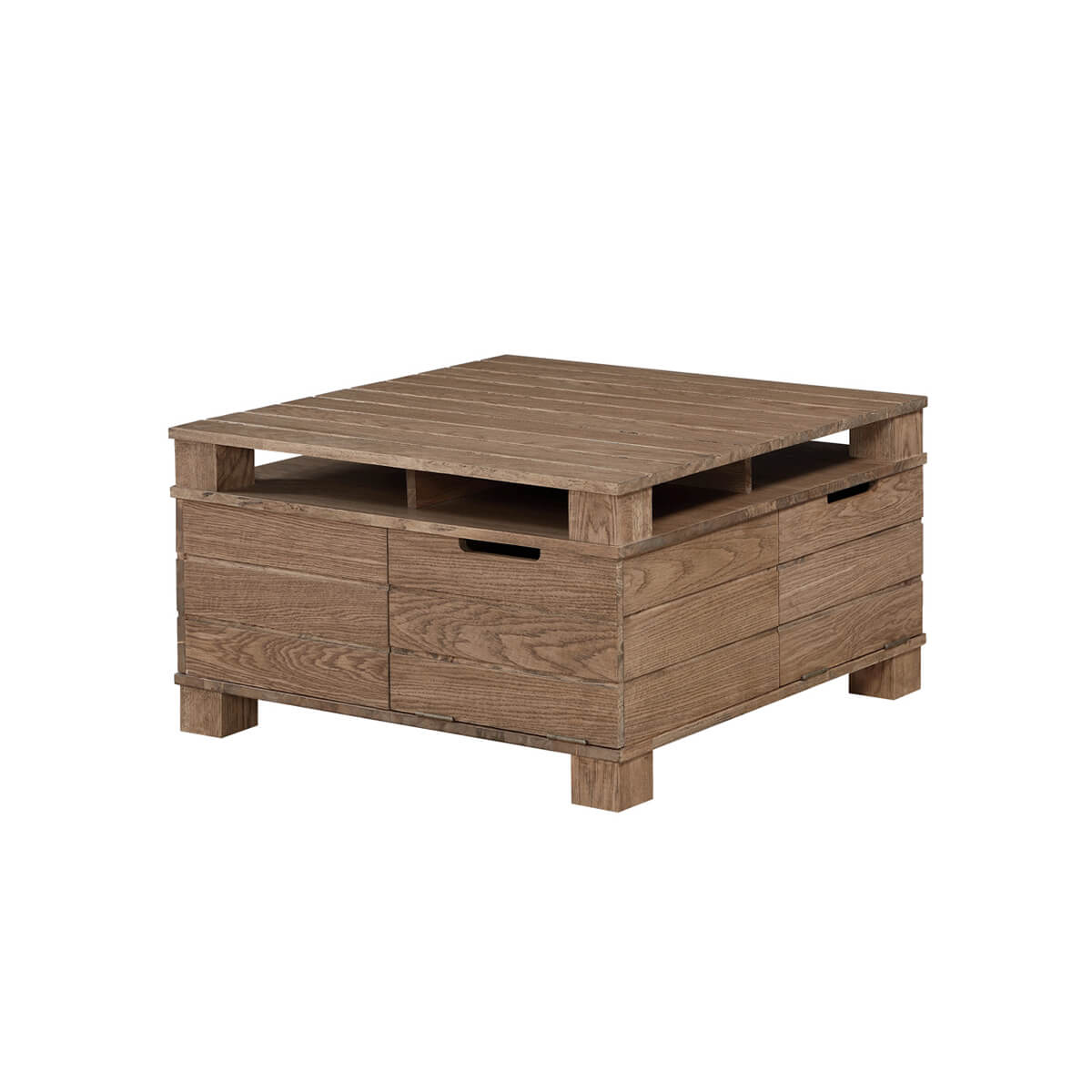Jual Rustic Oak Coffee Table