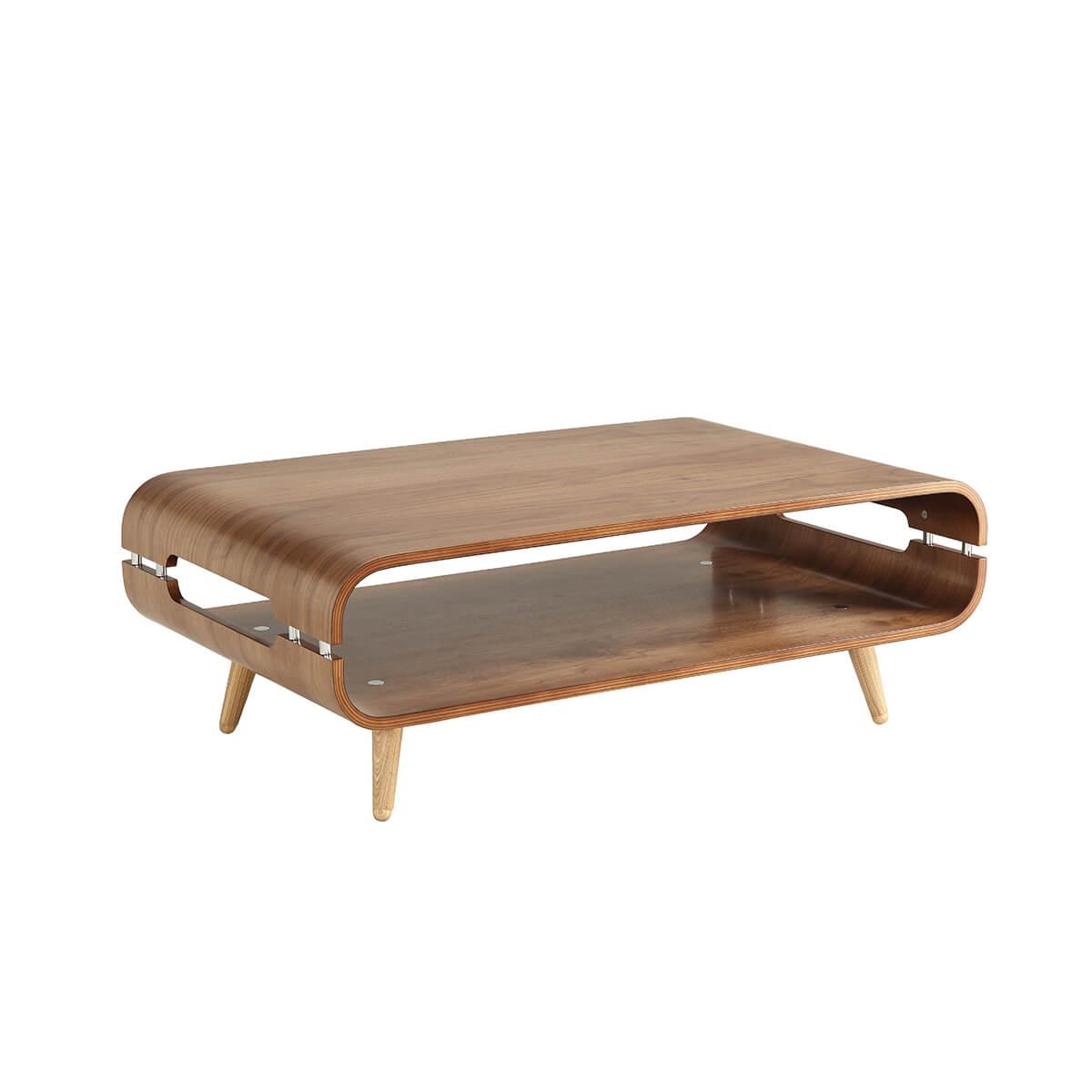Jual Scandinavian Style Walnut Coffee Table Coffee Tables From Fads