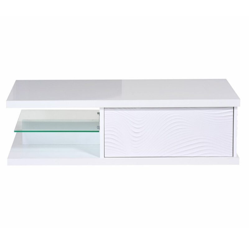 Karma White High Gloss Coffee Table