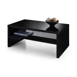London Black High Gloss Coffee Table