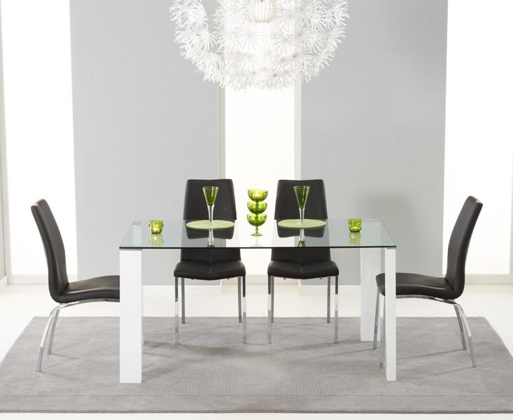 Duke Clear Glass & White Gloss 5
