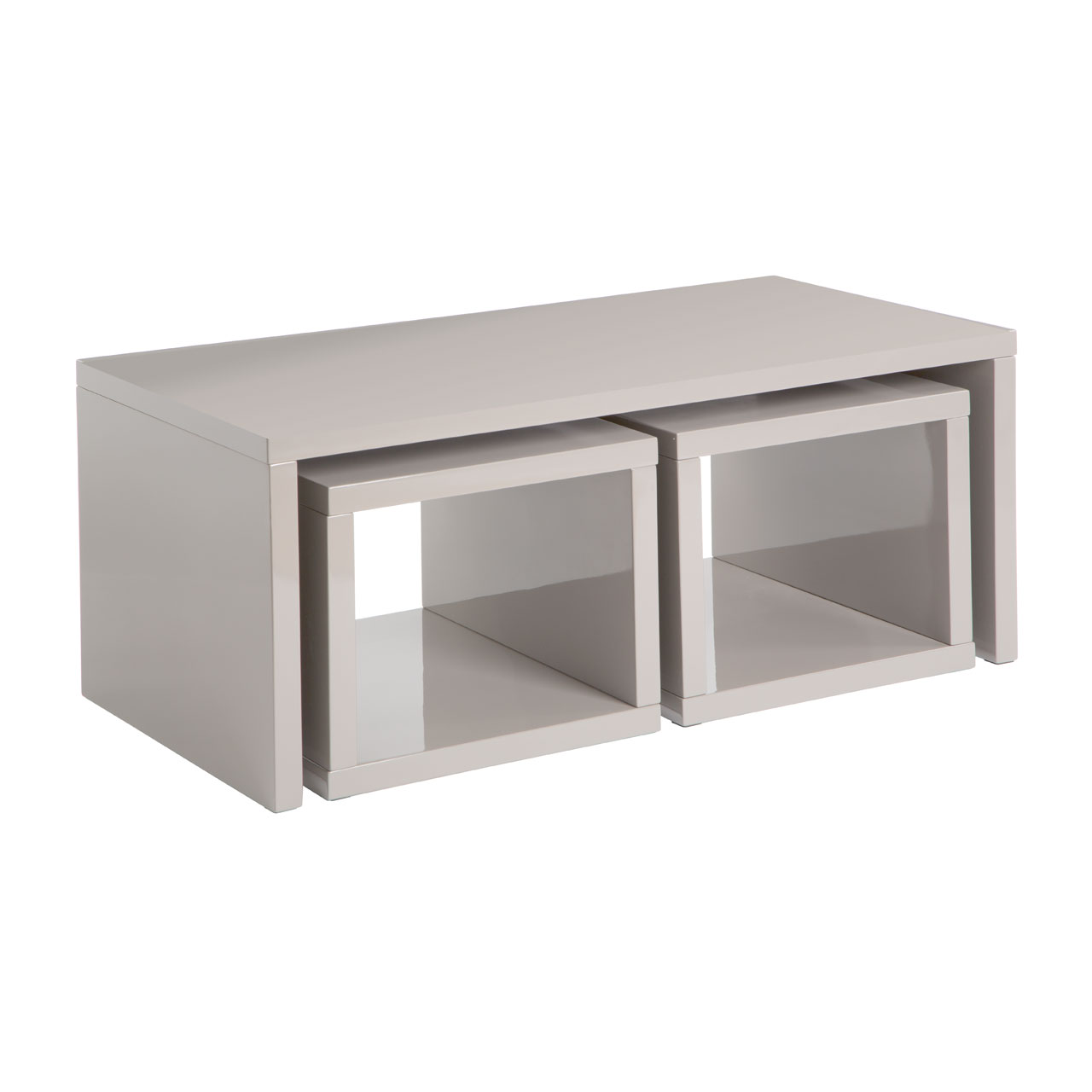 Charmant Madrid Light Grey Coffee Table
