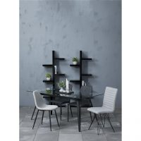 Monty Clear Glass Dining Table 1
