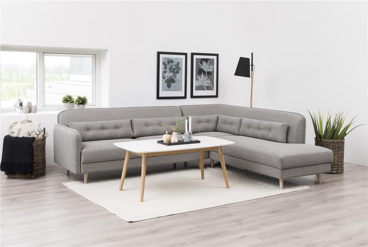 Nagano White & Solid Coffee Table 2
