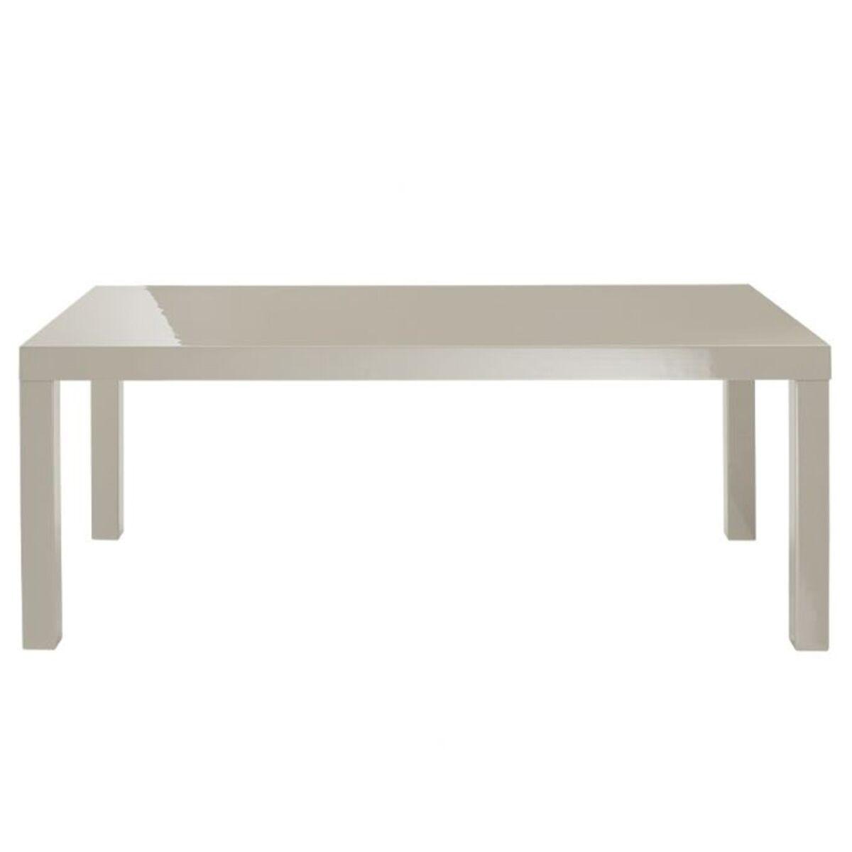Puro High Gloss Coffee Table (Colour: Stone)