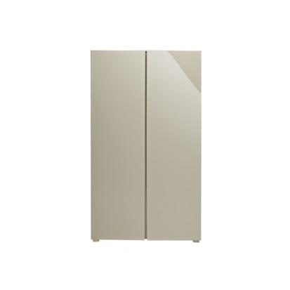 ec501ec8ea9 Puro High Gloss 2 Door Wardrobe - stone or cream