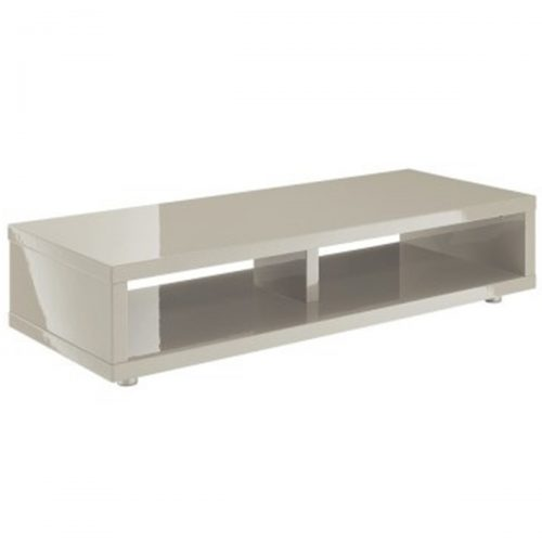 Puro Media TV Stand Grey Gloss