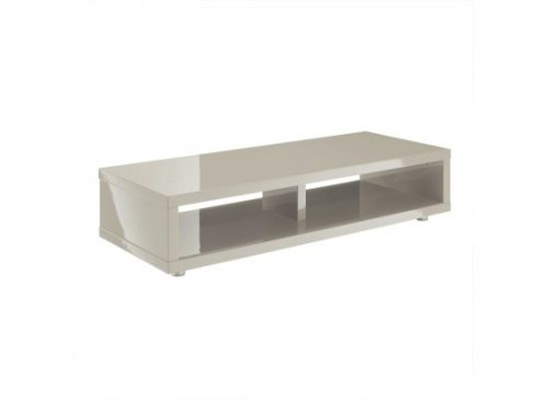 Ayla Media TV Stand High Gloss Grey
